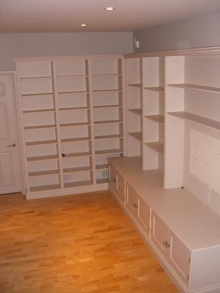 Cabinets installation