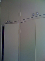 Wardrobe painting job in London
