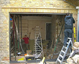 Home extension job