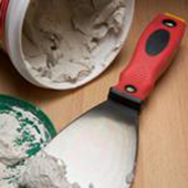 Plaster and plaster tool