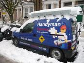 a vehicle of Handyman Express